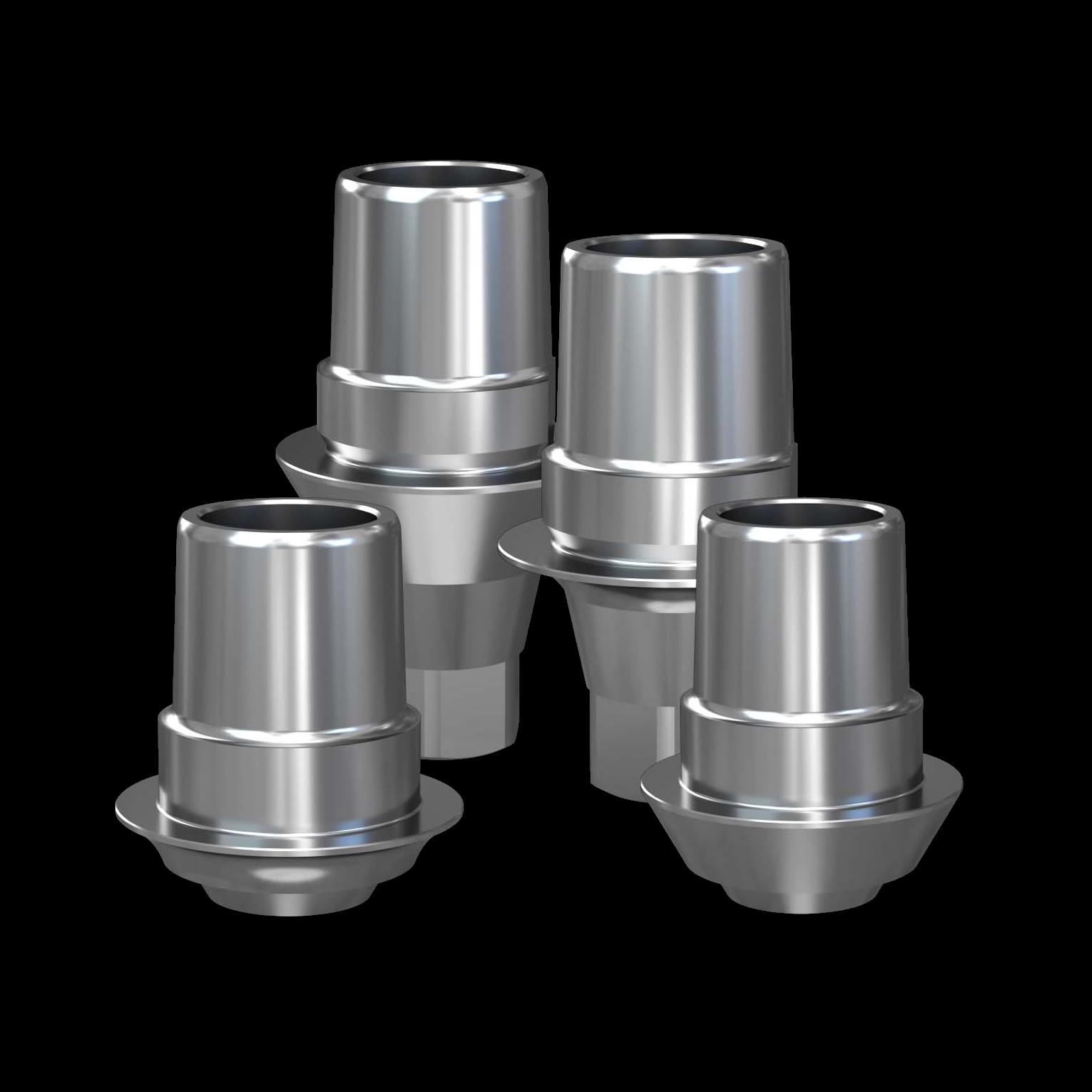 Titanium bases